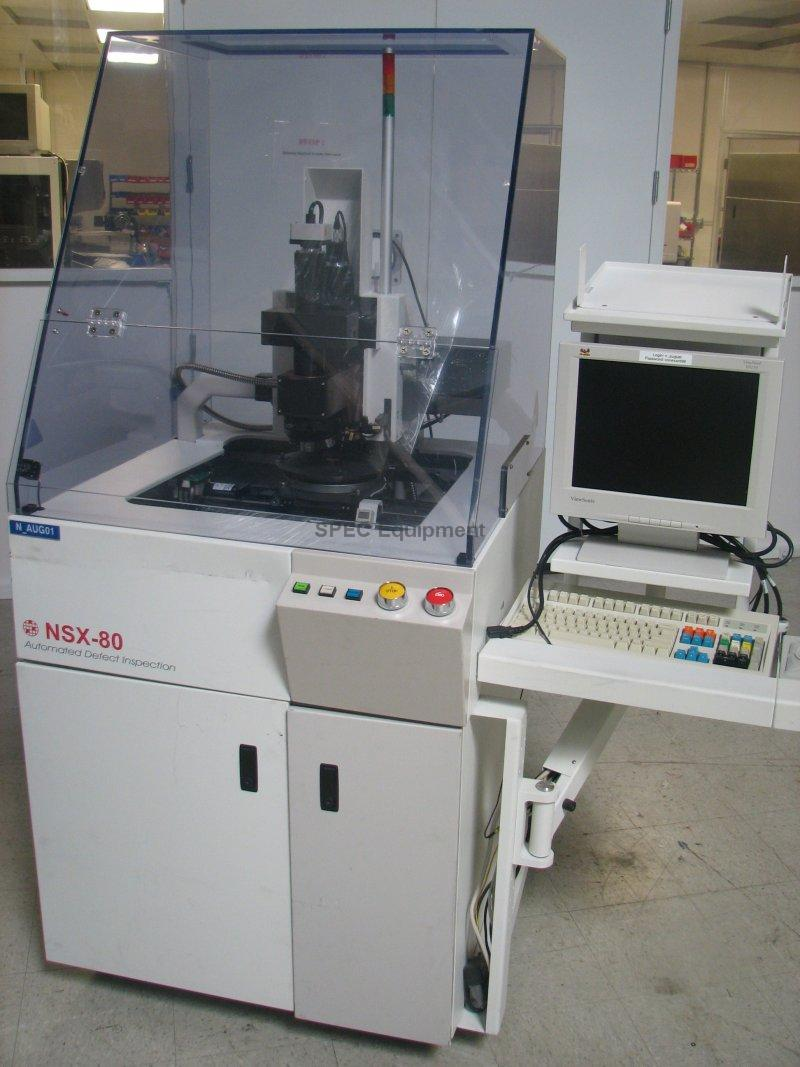Spec Equipment August Technology Nanometrics Nsx 80